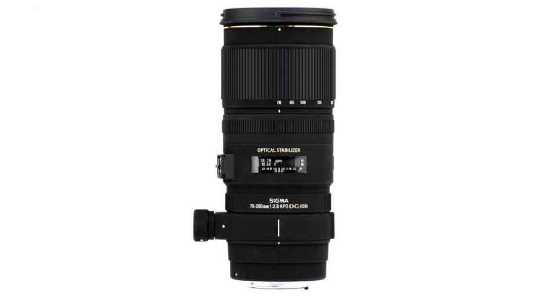Sigma zoom EF 70-200mm f:2.8 stabilisée