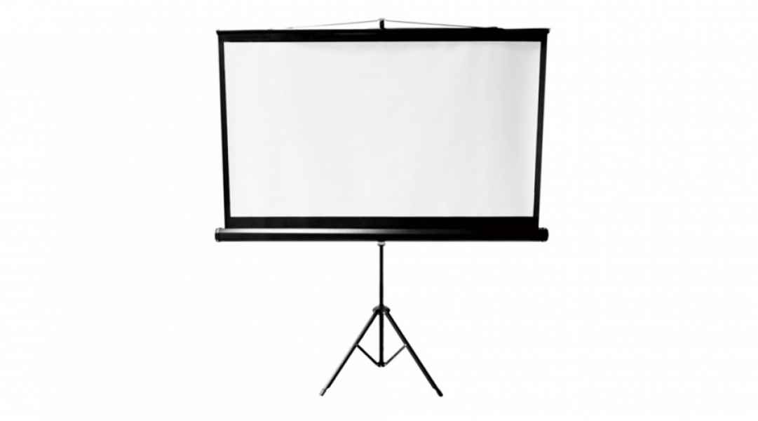 Écran de projection 8x8 ou 7x7 pieds