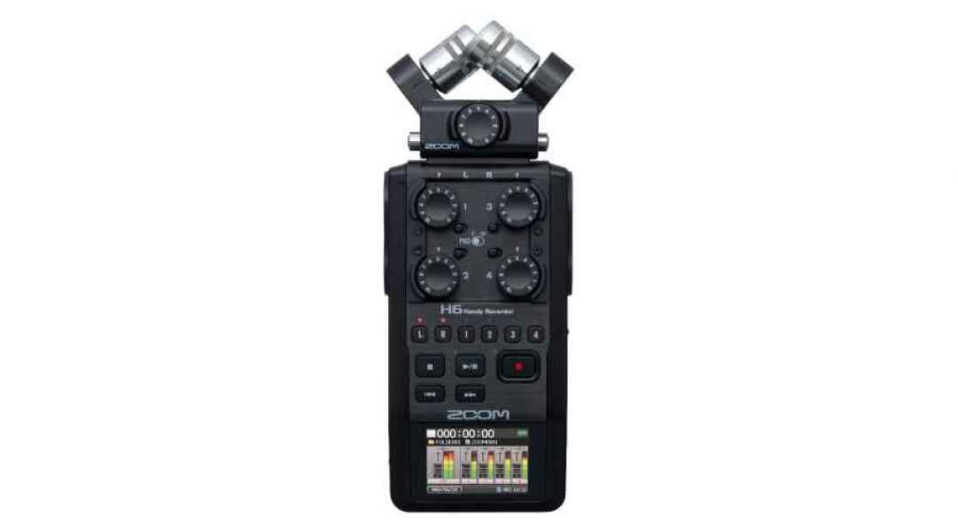 Zoom H6 (enregistreur audio)