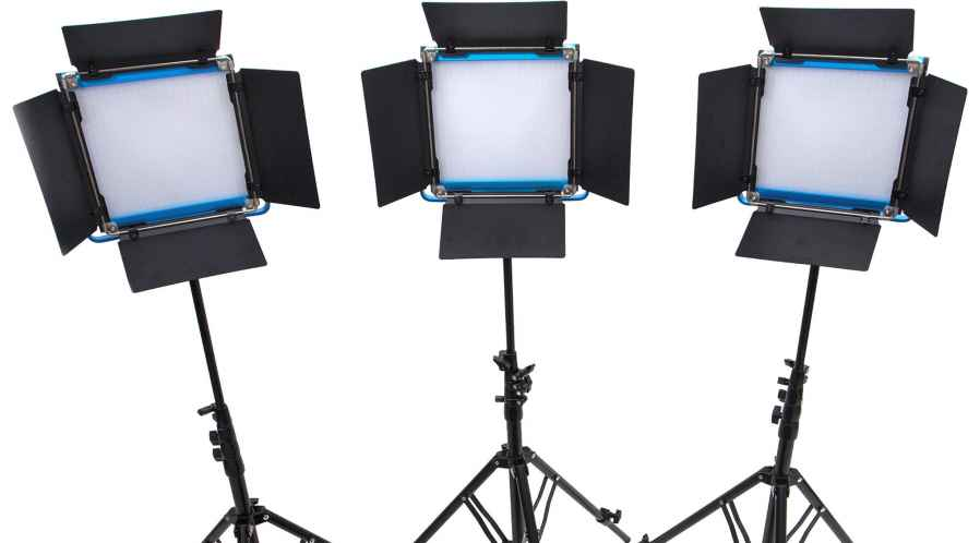 Dracast  S-Series  500 bi-color ( kit 3 lampes )