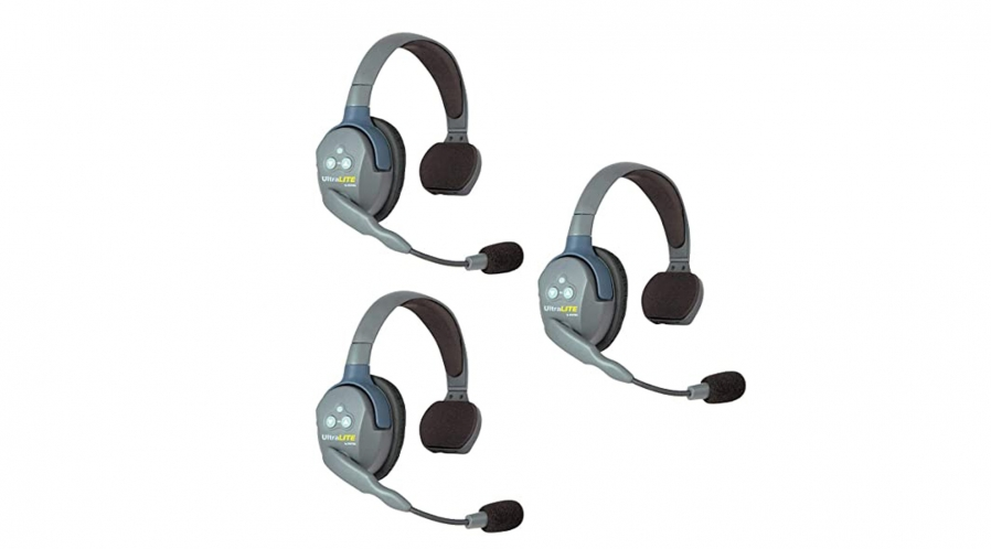 Kit de 3 casques de communication Eartech