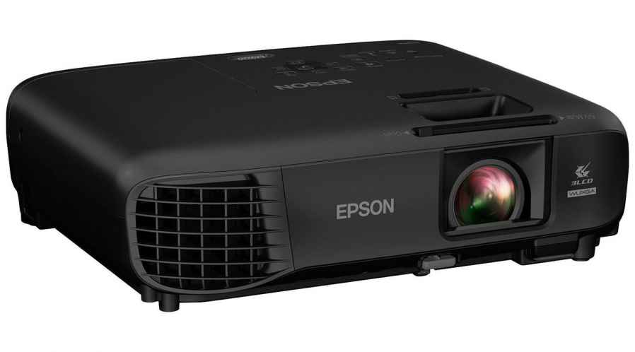 Epson Projecteur HD entrée HDMI 720p Puissance 3000 Lumens