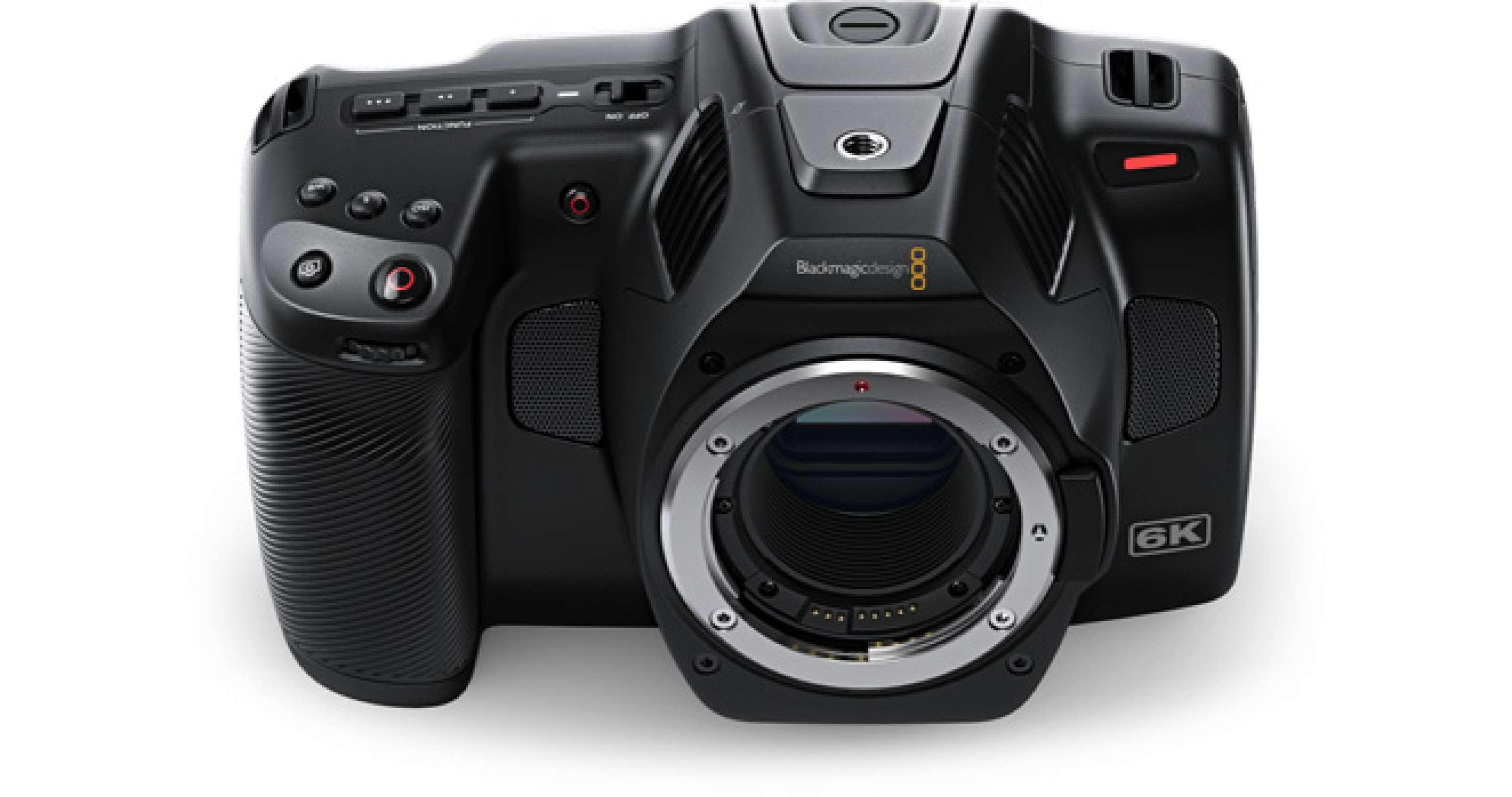BlackMagic Pocket Cinéma 6k Pro EF
