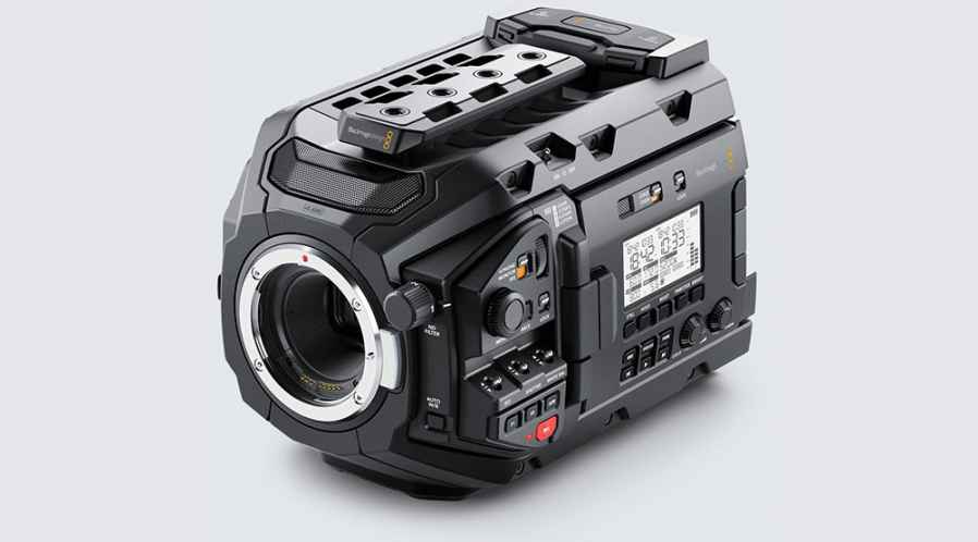 Blackmagic URSA Mini Pro + 2 SSD de 500Go