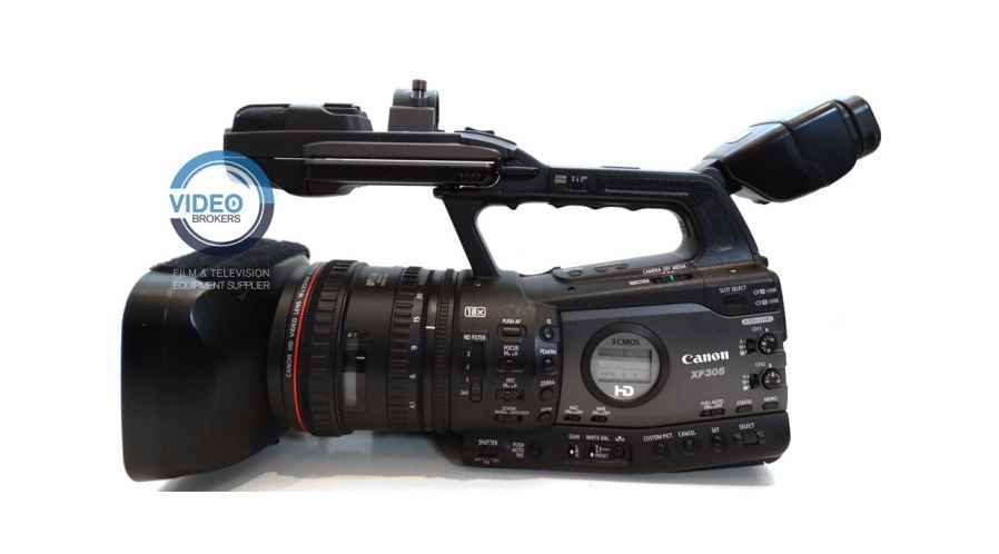 Canon XF-305  - 3CMOS 50Mb/s 4:2:2
