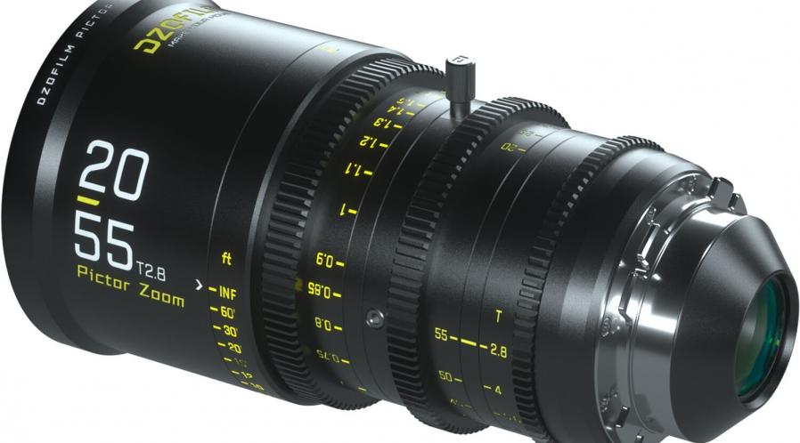 Objectif zoom Ciné 20-55mm T2.8 DZOFilm EF ou PL