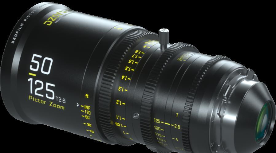 Objectif zoom Ciné 50-125mm T2.8 DZOFilm EF ou PL