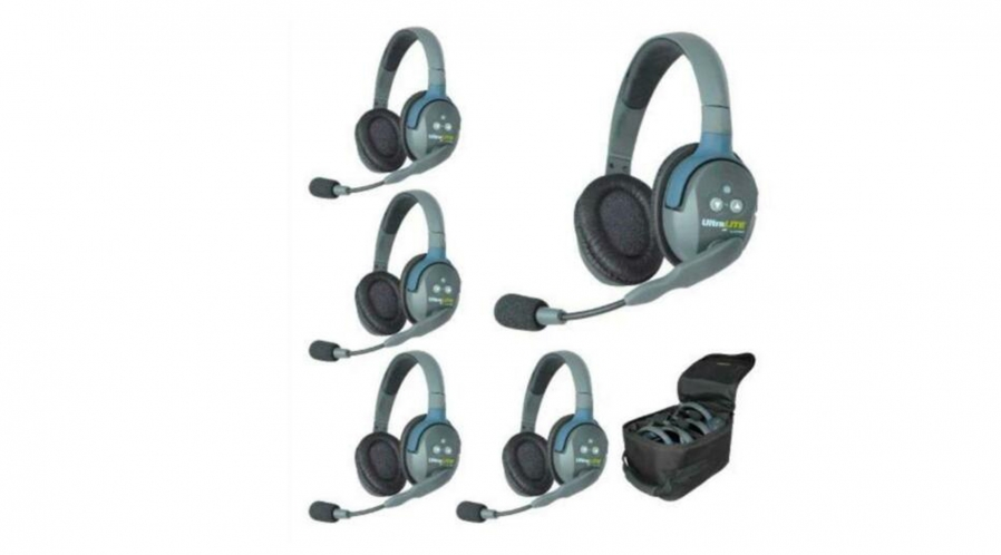 Kit de 5 casques de communication Eartech
