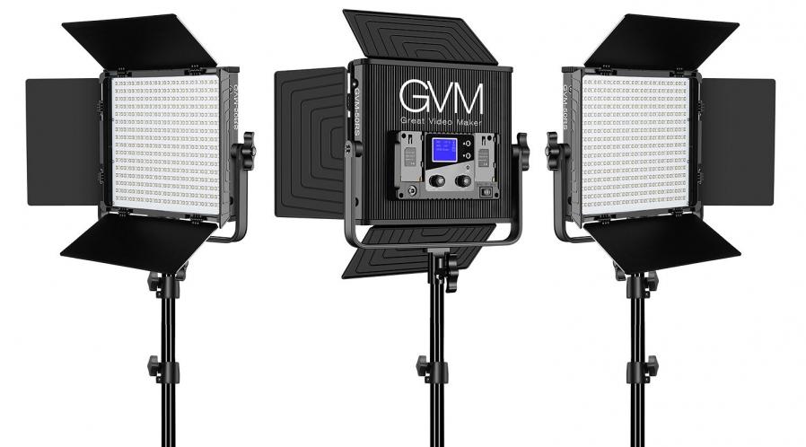 Kit de 3 Led RGBW GVM-50RS
