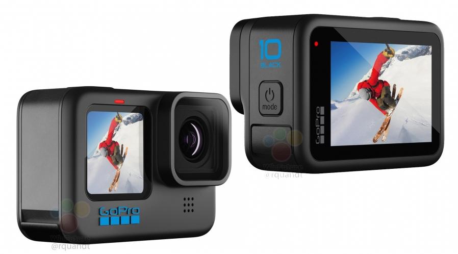 GoPro  Hero 10 Black 4K avec carte 128 Go
