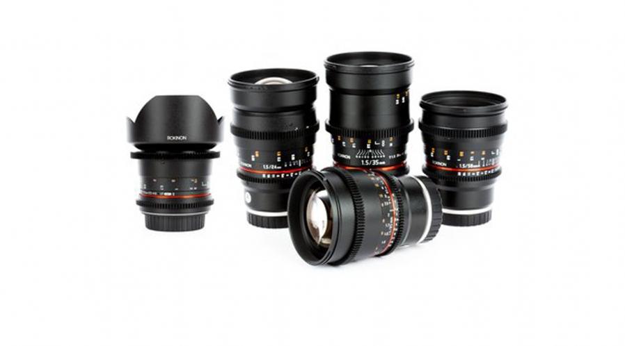 Rokinon Ciné EF Objectifs ( de 8mm à 135mm )