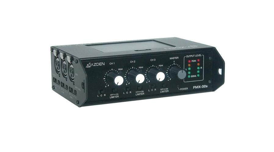 Azden Mixeur audio 3 entrées