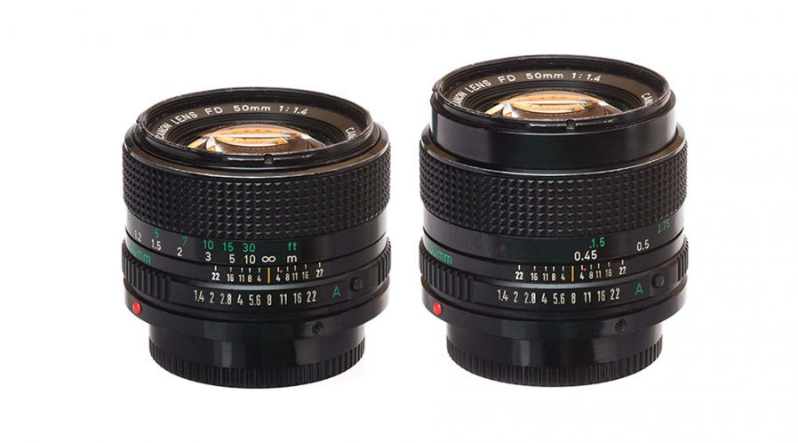Canon FD pour E-mount ( Kit 4 objectifs )