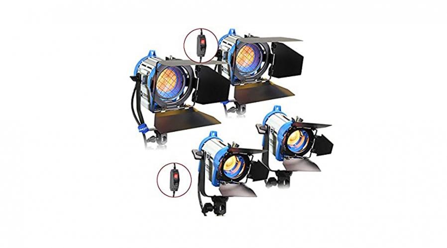 Kit éclairage 4 lampes