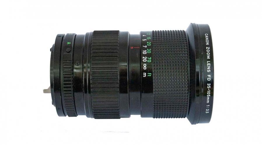 Canon FD pour E-mount Zoom 35-105 F: 3.5