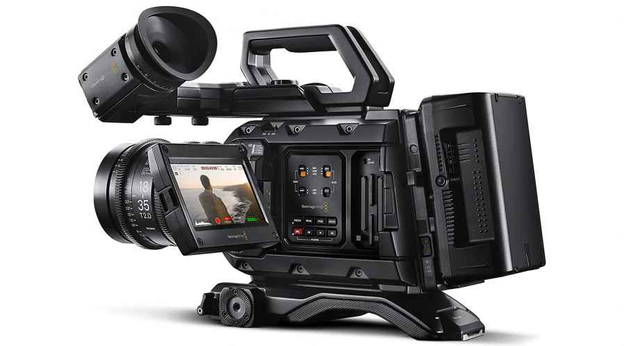 Blackmagic URSA mini Pro à l