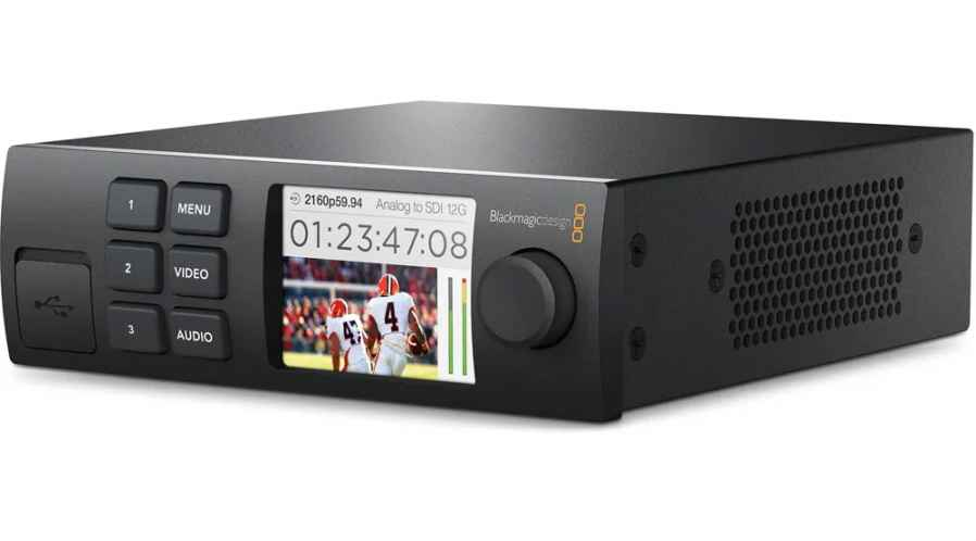 Blackmagic Convertisseur Web Presenter