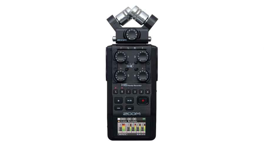 Zoom H6 (enregistreur audio)